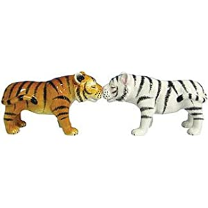 Kissing Tigers Salt & Pepper Shakers Set