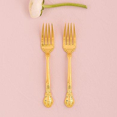 Cake-Fork-Set-Classic-Gold-Romance