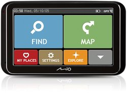 Mio 5420027523842 GPS Bluetooth Noir