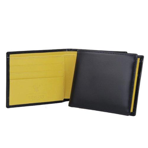 [エッティンガー] ETTINGER 二つ折り財布(小銭入れ付) ネイビー BILLFOLD WITH 3 C/C & COIN PURSE BH141JR NAVY [並行輸入品]