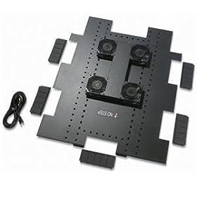 【クリックで詳細表示】APC NetShelter SX 750mm幅 天井ファン 100V ACF503
