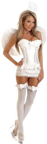 Sexy Angel Corset Costume