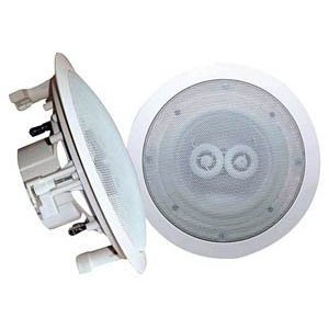 Pyle Home PWRC82 8-Inch In-Ceiling Dual-Channel/Voice Coil Weather Proof Speaker