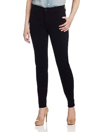 NYDJ Women's Petite Sheri Skinny Jeans, Black, 0P