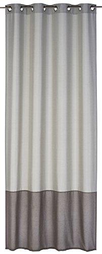 elbersdrucke vorhang dualino senschal 140 x 255 beige. Black Bedroom Furniture Sets. Home Design Ideas