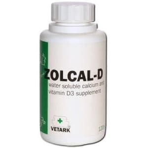 Zolcal-D Liquid Calcium / D3 Supplement - 500ml
