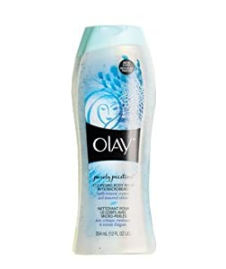 Olay PURELY PRISTINE Bath & Shower Cleansing Body Wash MINERAL CRYSTALS & SEAWEED EXTRACT 12 oz. (Pack of 2)