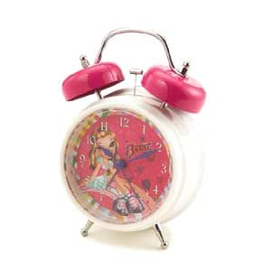 my charmed life twin bell alarm clock by bratz electronic alarm clocks. Black Bedroom Furniture Sets. Home Design Ideas