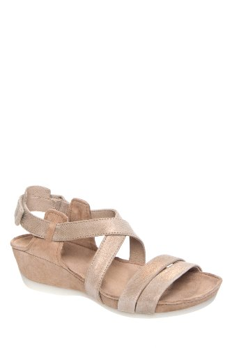 Camper Micro 21962-006 Low Wedge Ankle Strap Sandal
