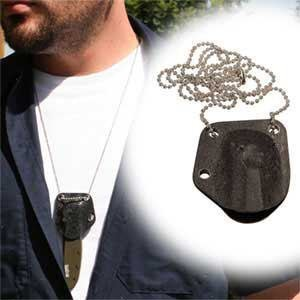 Kershaw Chive Kydex Neck Sheath on Chain