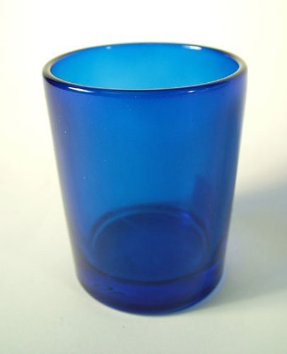 Blue Glass Votive Candle Holders - Case Of 72