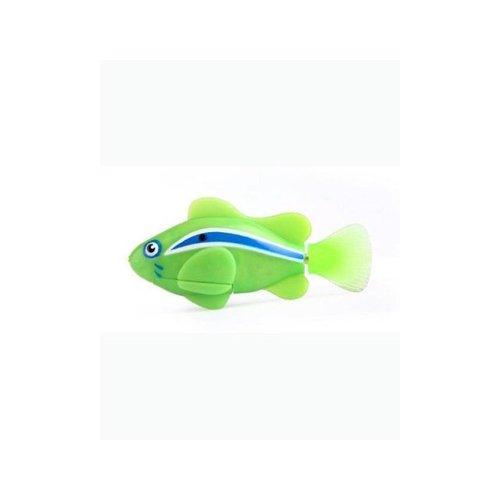 Robo Fish: Green Electronic 3-Inch Clownfish