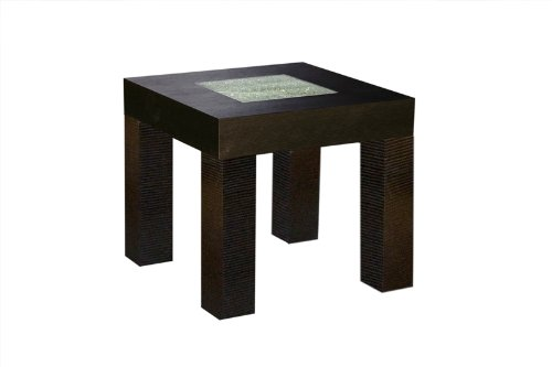 Cheap Diamond Sofa Urban Square End Table in Dark Walnut L0727B (L0727B)