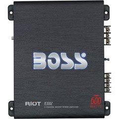 Boss R3002 600w 2 Ch Riot Series Car Audio Amplifier Amp 2 C