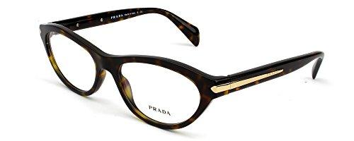Prada Rx Eyeglasses - PR18PV Green Tortoise / Frame only ...