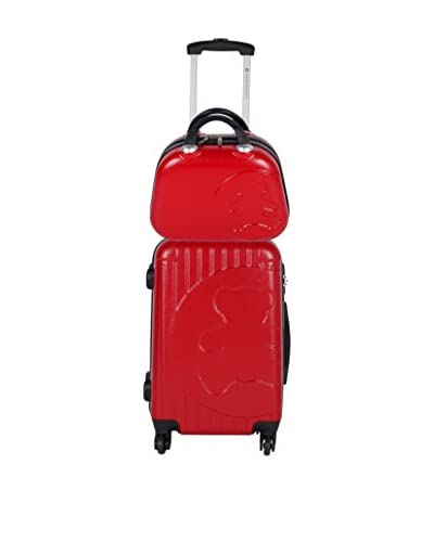 LULU CASTAGNETTE Set Trolley Rigido e Beauty Case  0 cm