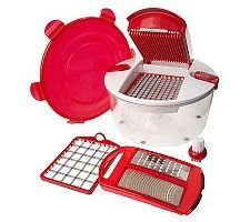 Genius Salad Chopper 6-piece Food Preparation System
