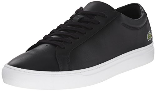 Lacoste Men's L.12.12 116 1 Fashion Sneaker, Black, 10.5 M US