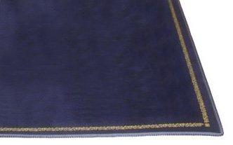 Smir - 100495 - jeu de casino - Tapis de Jeu impression relief Or Bleu décor floral