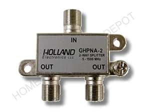 Splitter IPTV RF Broadband 3-Way HomePNA Tested & Certified for applications on U-Verse Networks
