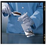 Sterileware Scoop an' Bag H36910-0000 Sterile Polystyrene Scoop 60ml (2oz) with Sterile Polyethylene Sample Bag (Pack of 50)