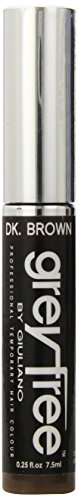 Greyfree Instant Hair Color Touch Up, Dark Brown, 0.25 Ounce