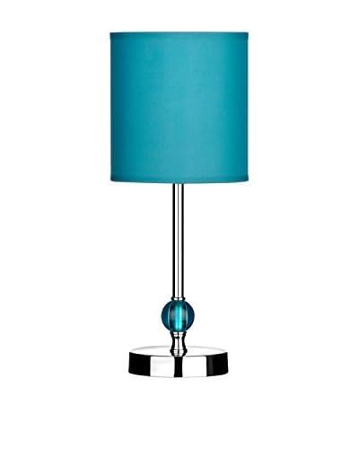 Premier Housewares Lámpara De Mesa Chrome