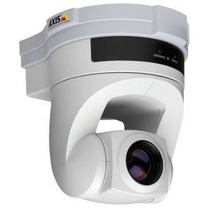 Axis 214 PTZ Network Camera - Color, Black & White - CCD - Cable