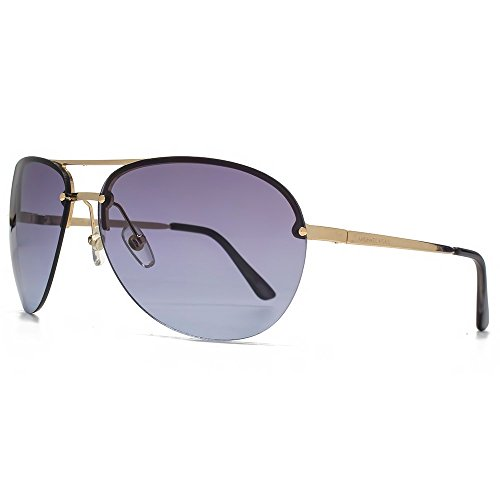 Michael Kors Kai Aviator Sunglasses - Gold