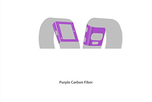 Fitbit Surge - Carbon Series Skin/Stickers/Decal (Purple)