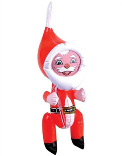 """New 22"""" Inflatable Santa Claus Christmas Decoration front-975749"""