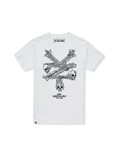 Zoo York Camiseta Manga Corta Bones Blanco