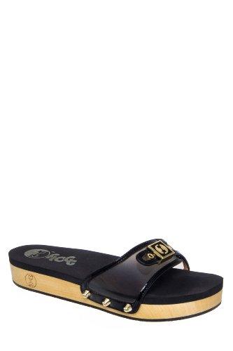 Flogg Nikita Iii Low Heel Platform Slide Sandal