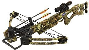 PSE Toxic Skullworks Crossbow Package, 150-Pound, Camo by PSE