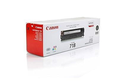 Canon I-Sensys LBP-7200 cn - Original Canon 2662B002 / 718BK - Cartouche de Toner Noir -