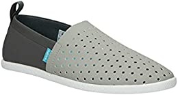 Native Mens Venice Pigeon Grey Dublin Grey Tone Micro Shoes