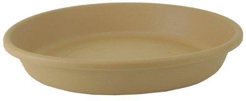 Akro Mils SLI20000A34 Deep Saucer for 20-Inch Classic Pot, Sandstone, 17-Inch