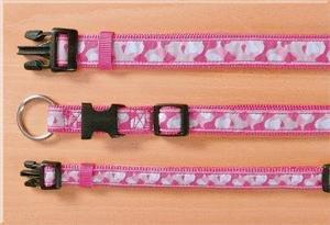 Trixie Modern Art Halsband Rose, S-M: 30-45 cm/15 mm, pink