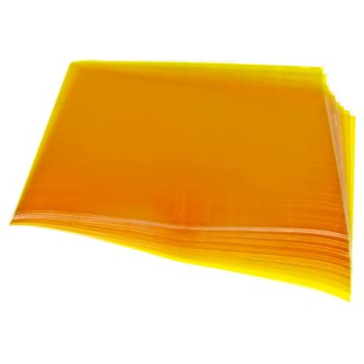 "10 Pack Addicore Kapton Tape Sheets Polyimide 8"" X 11"" 0.06mm Thick With Release Liner for 3D Printer"