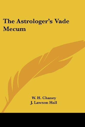 The Astrologer's Vade Mecum