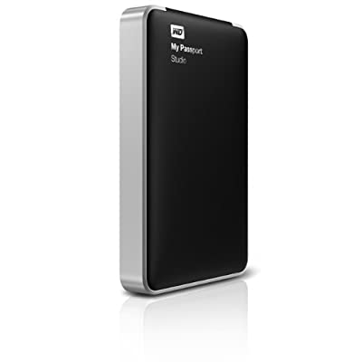 WD My Passport Studio 500GB Mac Portable External Hard Drive Storage