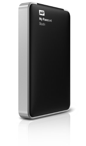 Western Digital My Passport Studio 1 TB FireWire 800 External Hard Drive WDBK8A0010BBK-NESN