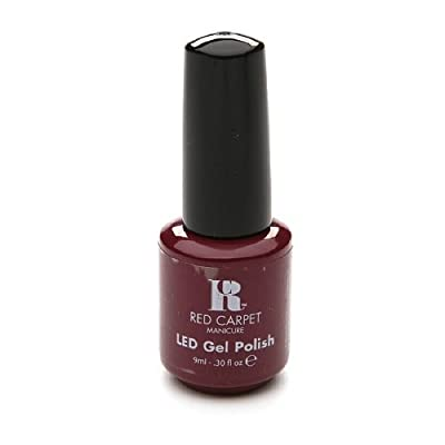 Red Carpet Manicure LED Gel Polish - Plum Up the Volume .30 Oz