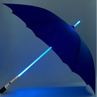 ZHOL® Blade Runner Light Saber LED Flash Light Fashion Sun Rain Umbrella (Blue)