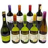 人気のチリワイン コノスル9本セット (泡1本+赤・白各4本) 750ML*9 1個