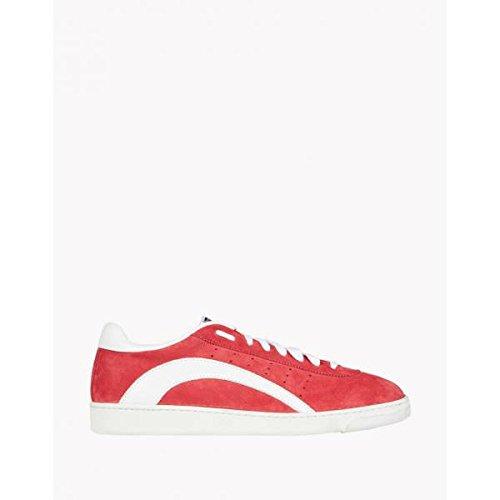 Dsquared2  Dsquared2 Uomo Modello Trax, Herren Sneaker, Rot - Rosso - Größe: 40.5 thumbnail