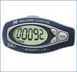 Cheap Sportline Step & Distance Digital Pedometer (SL-3475-N2F)