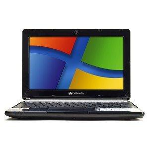 "Gateway LT4004u Netbook, Atom N2600 Dual-core, 1.66Ghz, 1GB, 250GB, HDMI, 10.1"" Screen, Black, Windows 7 Starter"