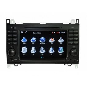 Pioeneer Intelligent In Dash Navigation For Mercedes Benz B200 6-8 Inch Touchscreen Double-DIN Car DVD Player ...