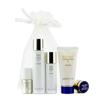 Revital Set: Whitening Lotion 75ml + Cleansing